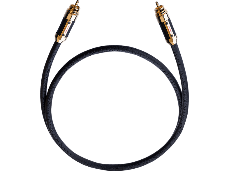 OEHLBACH XXL Black Connection Digitalkabel 0.75 m Cinchkabel, 750 mm in Schwarz von OEHLBACH