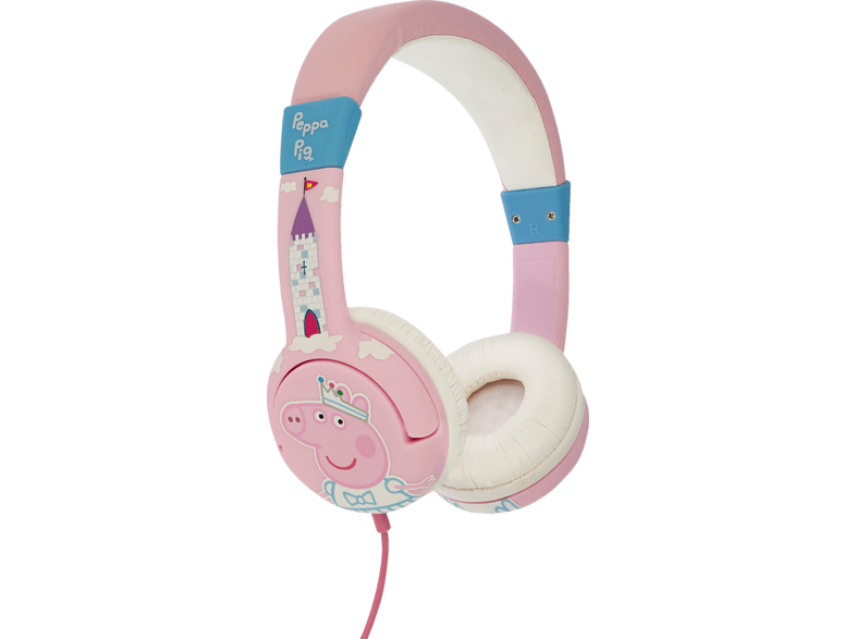 OTL Peppa Pig Princess Junior, On-ear Kopfhörer  Pink von OTL