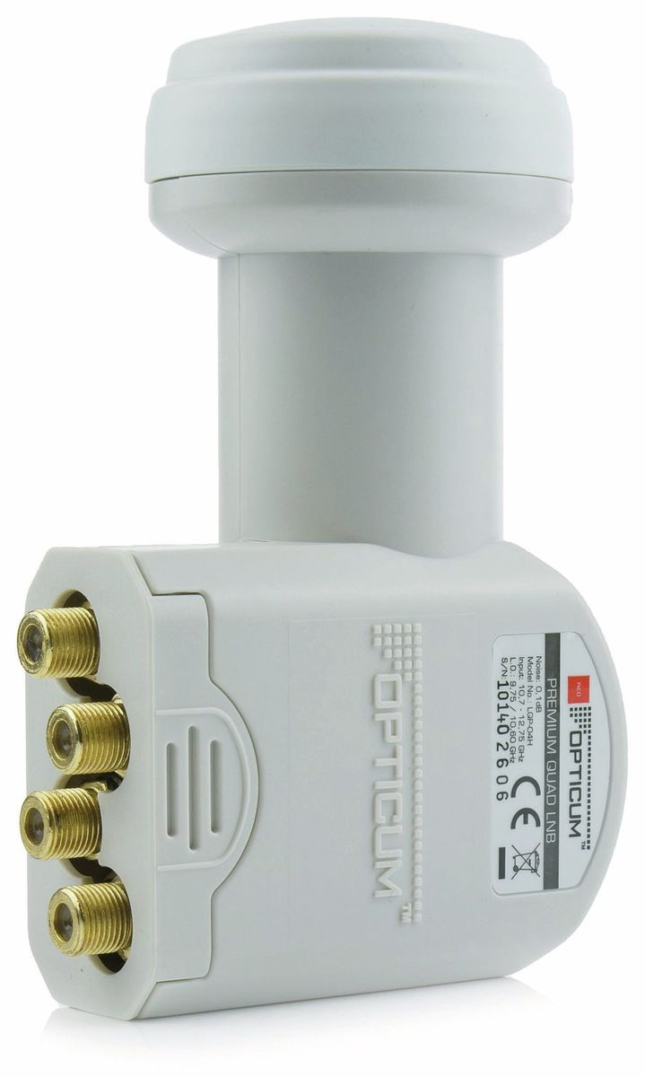 Quad-LNB OPTICUM LQP-04H von Opticum
