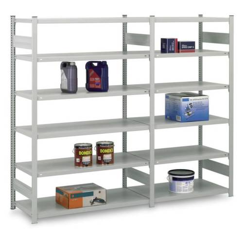 Orion Regalsysteme HZG20410AS Fachbodenregal-Grundmodul 315kg (B x H x T) 1060 x 2000 x 435mm Stahl von ORION REGALSYSTEME