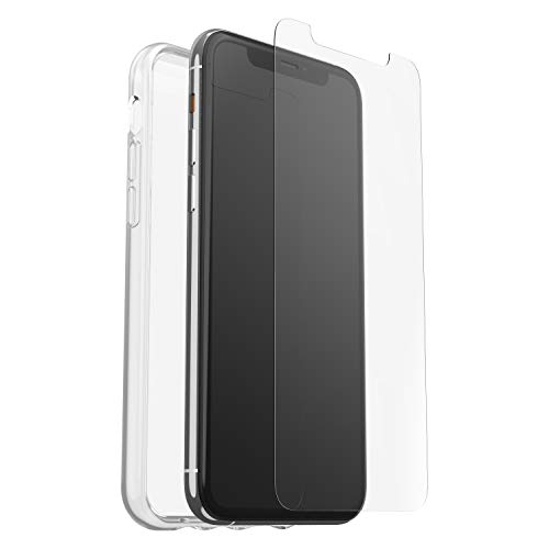 OtterBox Clearly Protected Skin Bundle Extra Slim Silikon Schutzhülle + Performance Glas Display Schutzglas, geeignet für Apple iPhone 11 Pro, transparent von OtterBox
