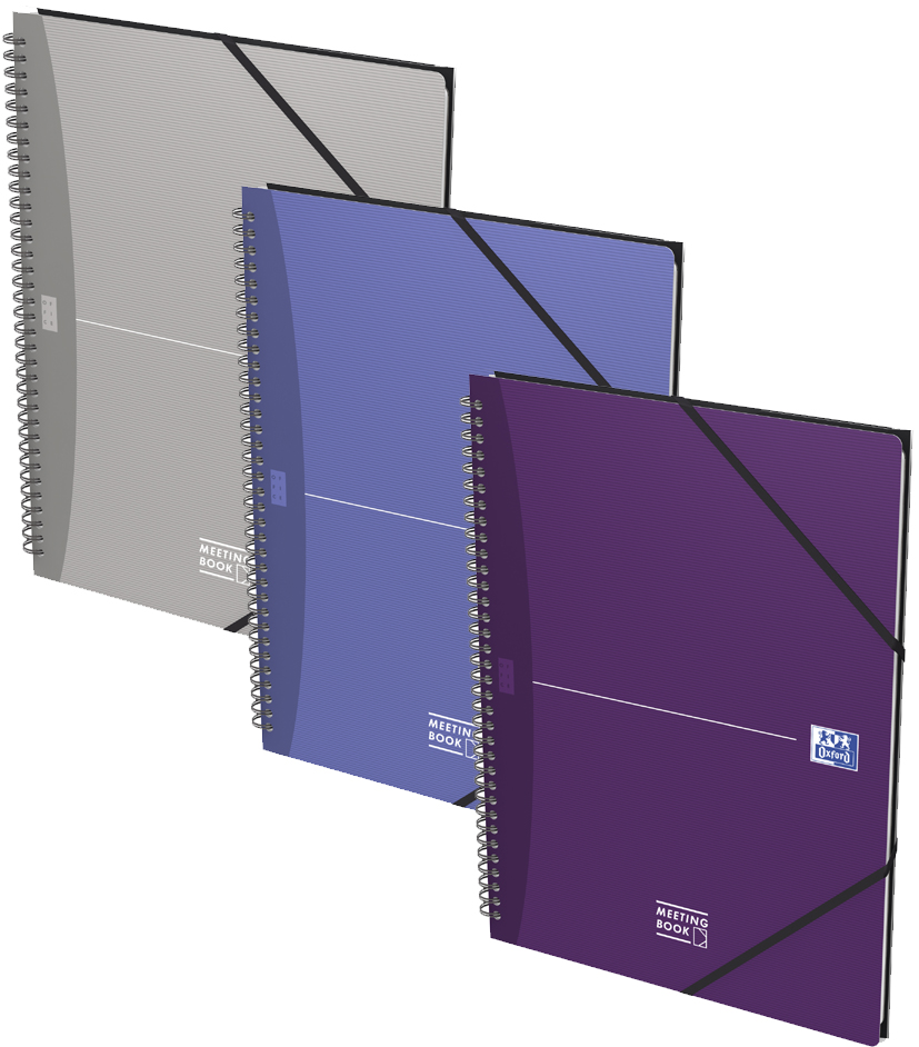 Oxford Collegeblock Office , MEETINGBOOK, , kariert, DIN A4+ von Oxford