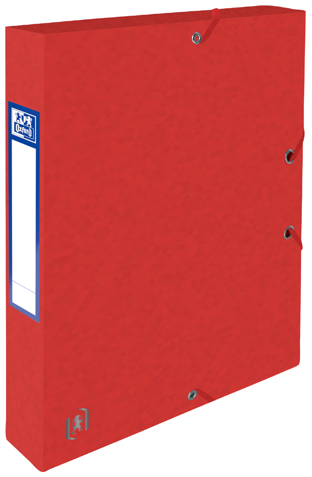 Oxford Sammelbox Top File+, 40 mm, DIN A4, rot von Oxford
