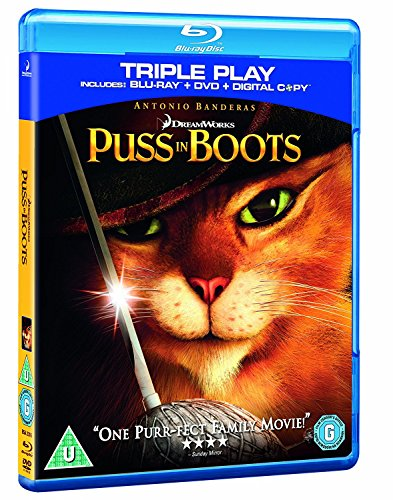 Puss In Boots [BLU-RAY] von PARAMOUNT HOME ENTERTAINMENT