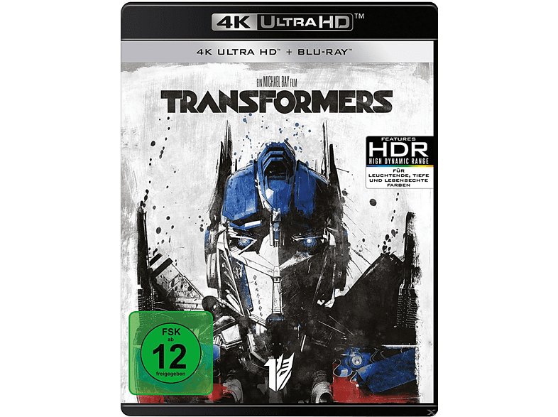Transformers [4K Ultra HD Blu-ray + Blu-ray] von PHE