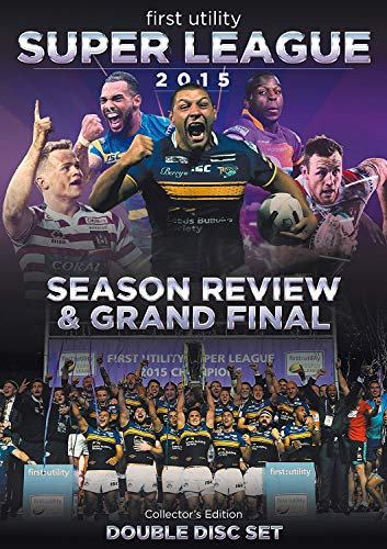 First Utility Super League Season Review & Grand Final 2015 (Double Disc Collector's Edition) [DVD] [UK Import] von PDI Media