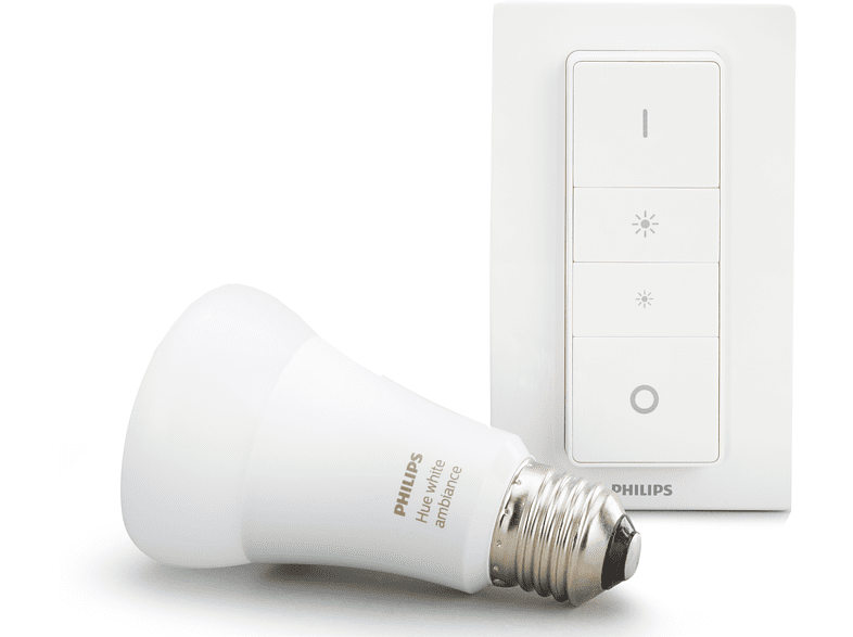 PHILIPS Hue White Amb. E27 Light Bluetooth Starter Kit kaltweiß bis warmweiß von PHILIPS