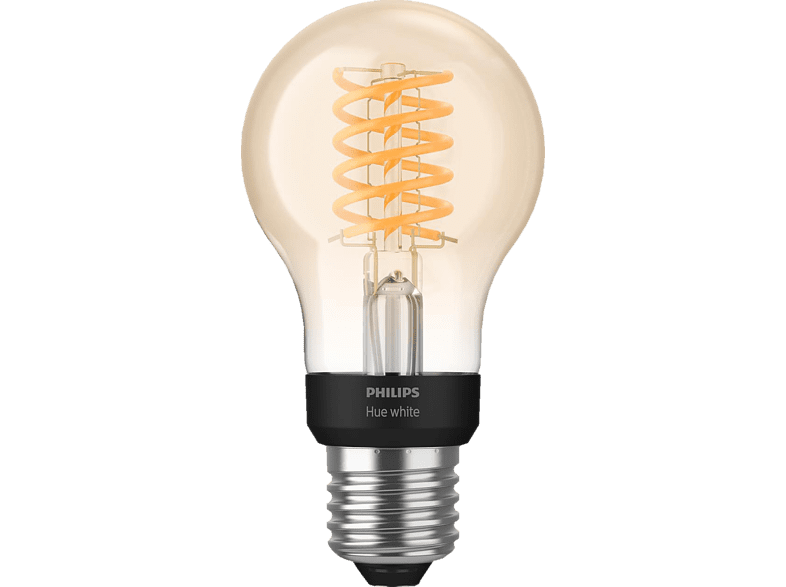 PHILIPS Hue White E27 Filament Bluetooth LED Lampe Warmweiß von PHILIPS