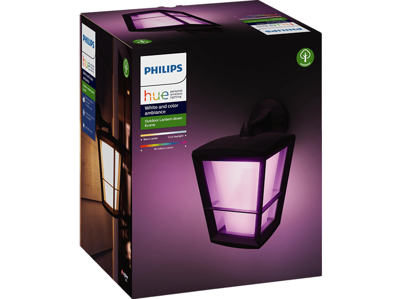 PHILIPS Hue White & Color Amb. Econic LED Wandleuchte Außenbeleuchtung von PHILIPS