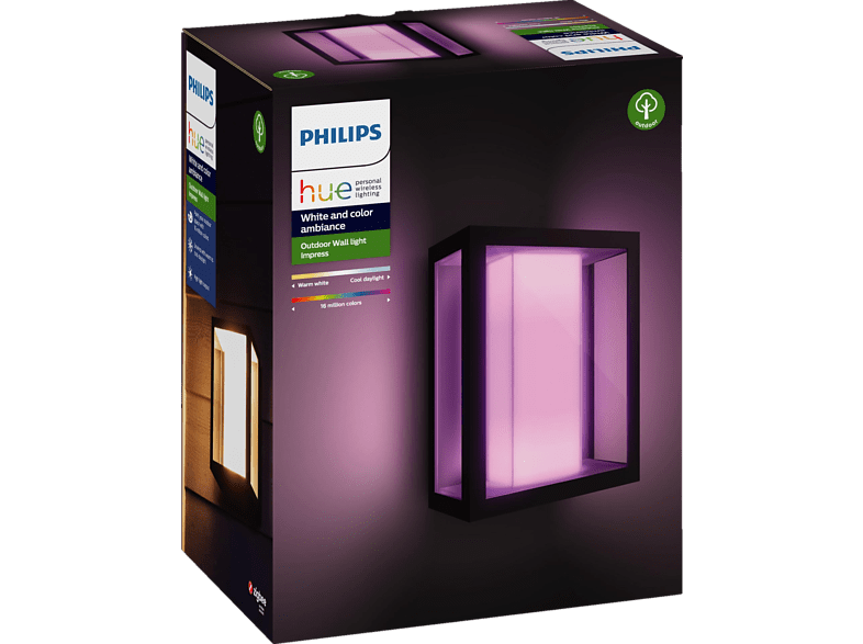 PHILIPS Hue White & Color Amb. Impress LED Wandleuchte von PHILIPS