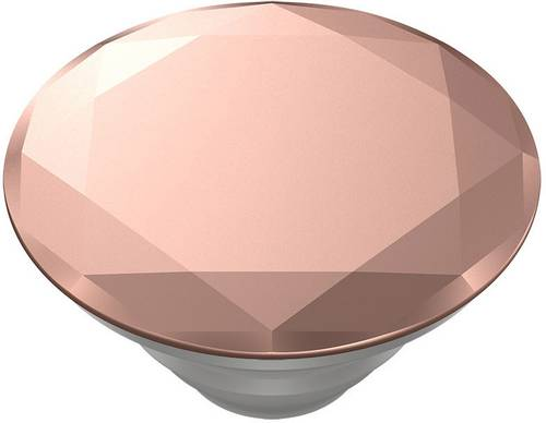 POPSOCKETS Metallic Diamond Rose Gold Handy Ständer Rose, Metallic von Popsockets
