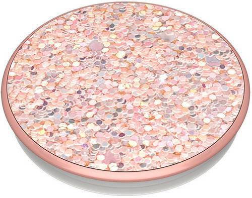POPSOCKETS Sparkle Rose Handy Ständer Rose, Glitzereffekt von Popsockets