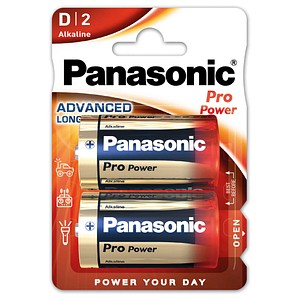Panasonic Batterien Pro Power Mono D 1,5 V von Panasonic
