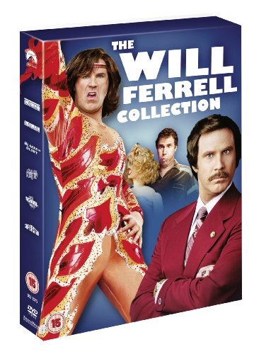Anchorman: The Legend of Ron Burgundy / Anchorman: Wake-Up Ron Burgundy / Old School / Blades of Glory / A Night At The Roxbury / Superstar [UK Import] von Paramount Home Entertainment
