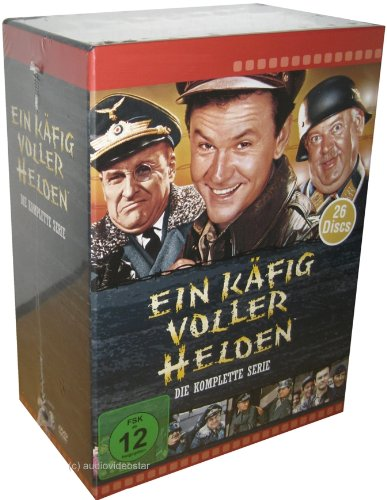 Ein Käfig voller Helden- komplett Box - Season 1+2+3+4+5+6 mit 26 DVD Set Deutsch uncut von Paramount Home Entertainment