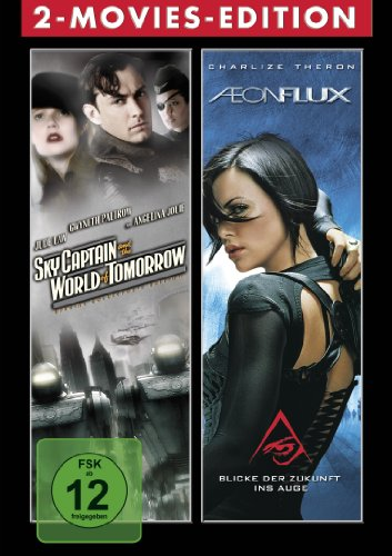 Sci-Fi 2 Disc Boxset: Aeon Flux: The Movie & Sky Captain and the world of tomorrow von Paramount Home Entertainment