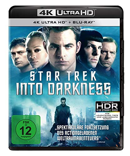 Star Trek 12 - Into Darkness (4K Ultra HD) (+ Blu-ray) von Paramount Pictures (Universal Pictures)