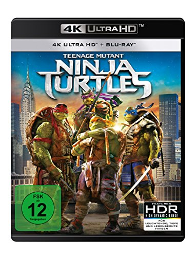 Teenage Mutant Ninja Turtles - 4K UHD [Blu-ray] von Paramount Pictures (Universal Pictures)