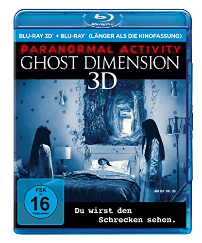 Paranormal Activity - The Ghost Dimension - Extended Cut  (+ Blu-ray) von Paramount Pictures Germany GmbH