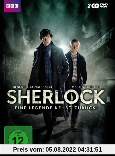 Sherlock - Staffel 2 [2 DVDs] von Paul McGuigan