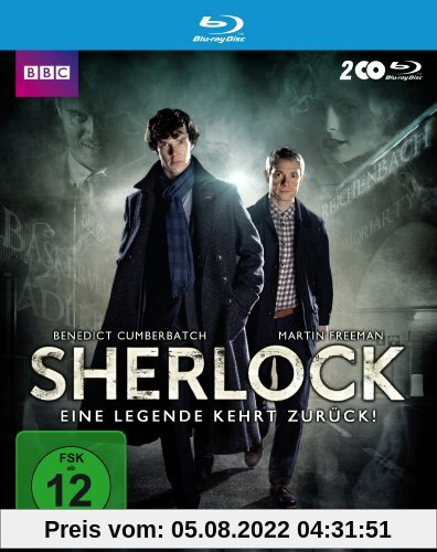 Sherlock - Staffel 2 [Blu-ray] von Paul McGuigan