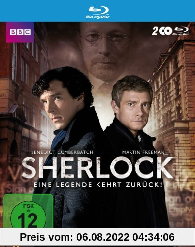 Sherlock - Staffel 3 [Blu-ray] von Paul McGuigan