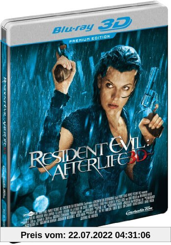 Resident Evil - Afterlife (3D + 2D Version im Limited Steelbook, exklusiv bei Amazon.de) [Blu-ray] von Paul W.S. Anderson