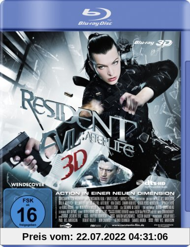 Resident Evil - Afterlife (3D Version) [3D Blu-ray] von Paul W.S. Anderson