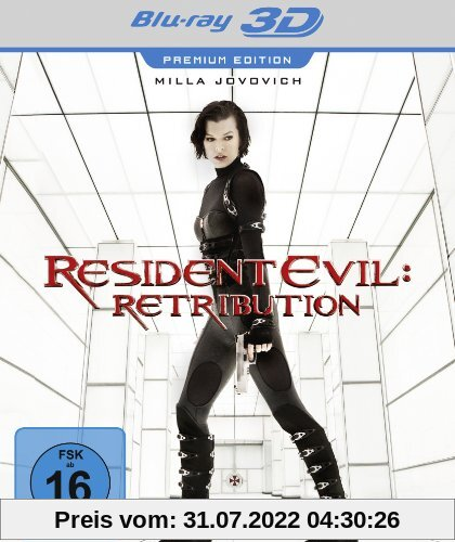 Resident Evil: Retribution (Premium Edition) [Blu-ray 3D] von Paul W.S. Anderson