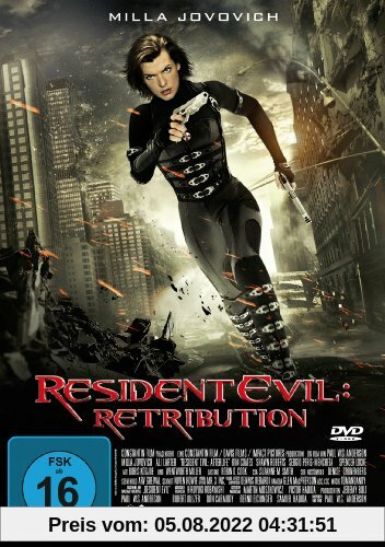 Resident Evil: Retribution von Paul W.S. Anderson