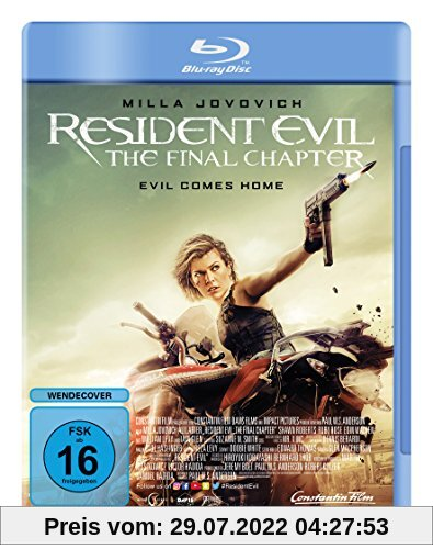 Resident Evil: The Final Chapter [Blu-ray] von Paul W.S. Anderson