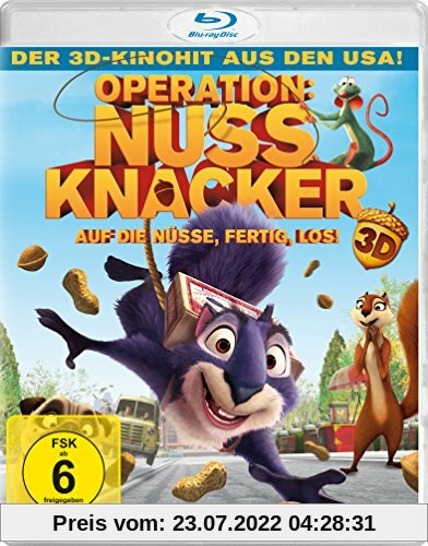 Operation Nussknacker  (inkl. 2D-Version) [3D Blu-ray] von Peter Lepeniotis