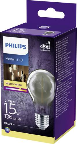 Philips Lighting 75963600 LED EEK A+ (A++ - E) E27 Glühlampenform 2.3W = 11W Warmweiß (Ø x L) 6cm von Philips Lighting