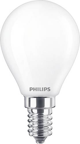 Philips Lighting 76343500 LED EEK A++ (A++ - E) E14 Tropfenform 4.3W = 40W Warmweiß (Ø x L) 4.5cm von Philips Lighting