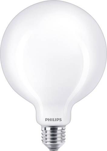 Philips 66514200 LED EEK A++ (A++ - E) E27 Globeform 10.5W = 100W Warmweiß (Ø x L) 12.5cm x 17.7cm von Philips