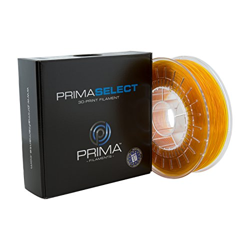 PrimaCreator PrimaSelect 3D Drucker Filament - PETG - 1,75 mm - 750 g - Transparent Gelb von Prima Filaments