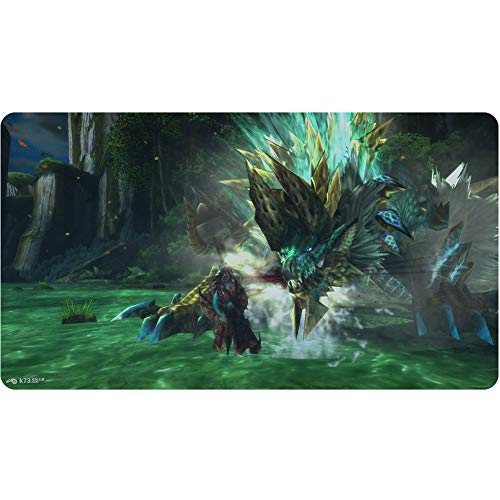 Gaming-Mauspad, Tastaturpad, Warcraft, Monster (900x400x3mm) 3 mm dick, Desktop- und Laptop-Pad von QIUPDE