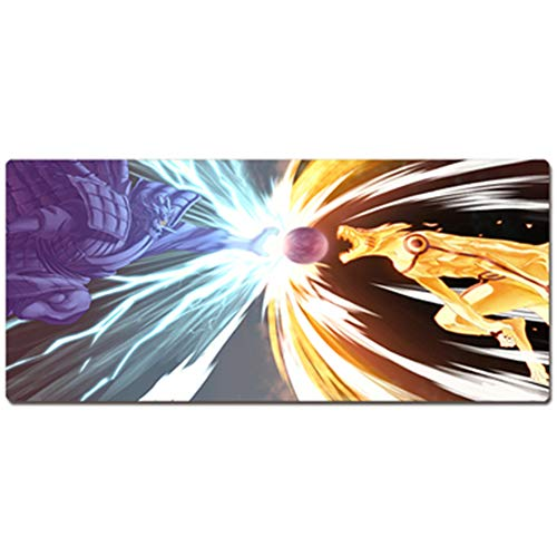 Gaming Mouse Pad, One Piece Naruto, Keyboard Pad Table Mat, XXL (800x400)XXXL (900x400) 3mm Thickening for Desktop and Notebook Pads von QIUPDE