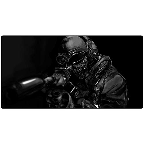 Gaming Mouse Pad, Warcraft, Monster, Keyboard Pad Table Mat (900x400) Non-slip Padded 3mm for Desktop Computer Desk Mats, PC and Laptop von QIUPDE