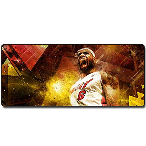 XXL Gaming Mouse Pad Tastaturpad Desktop Pad World of Warcraft 700x300x3mm Spezialoberfläche Für Erhöhte Geschwindigkeit Und Präzision, Desktop Für PC Und Laptop von QIUPDE
