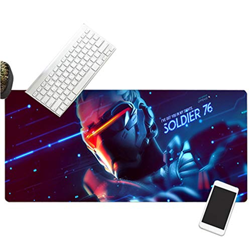 XXL Gaming Mouse Pad Tastaturpad Desktop Pad World of Warcraft800x300x3mm900x400x3mm Spezialoberfläche Für Erhöhte Geschwindigkeit Und Präzision, Desktop Für PC Und Laptop von QIUPDE