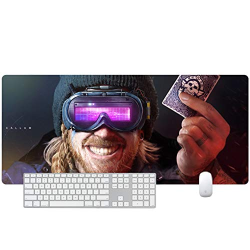 XXL gaming mouse pad keyboard pad desktop pad 900x400X3mm——700x300x3mm Special Surface for Increased Speed and Precision, Desktop for PC and Laptop von QIUPDE