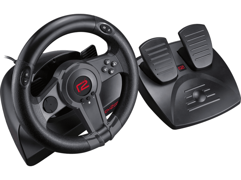 READY 2 GAMING Nintendo Switch Racing Wheel Lenkrad mit Pedalen - Schwarz online von READY 2 GAMING