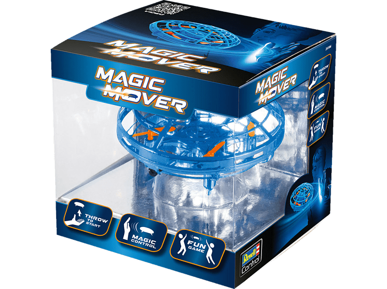 "REVELL Quadcopter ""MAGIC MOVER"" blau Fun-Spielzeugdrohne, Blau/Transparent von REVELL"