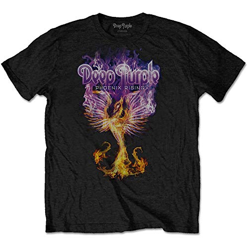 T-Shirt (Unisex Xxl)Phoenix Rising Black von Rocks-off