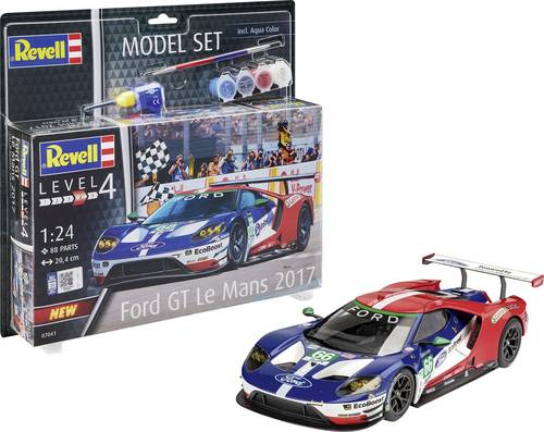 Revell 67041 Ford GT - Le Mans Automodell Bausatz 1:24 von Revell