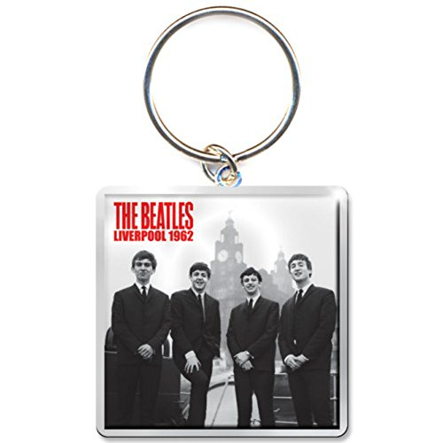 The Beatles Beatles in Liverpool Photo Print Keych von Rock Off