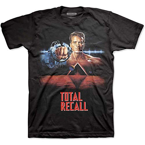 T-Shirt (Unisex S)Total Recall Black von Rocks-off