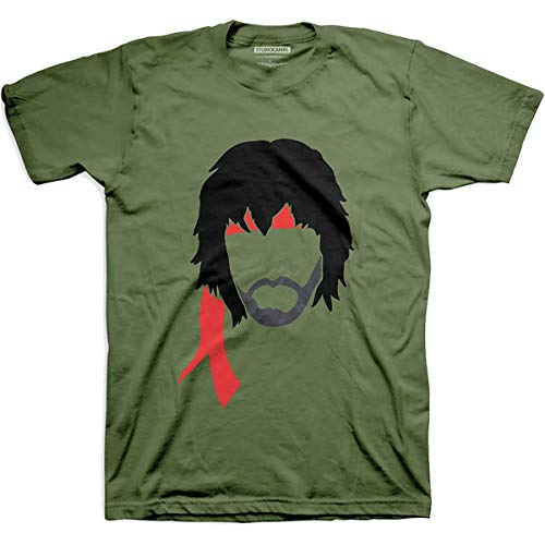 T-Shirt (Unisex Xl)Bandana Military Green von Rocks-off