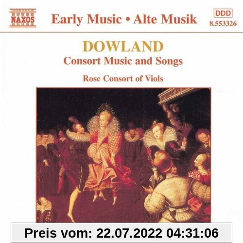 Consort Music And Songs von Rose Consort of Viols